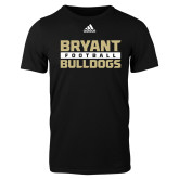 Adidas Black Logo T Shirt-Bryant Bulldogs Adidas Logo