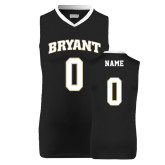 Replica Black Adult Basketball Jersey-Personalized