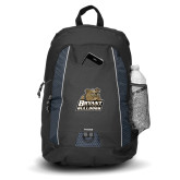 Impulse Black Backpack-Bryant Official Logo