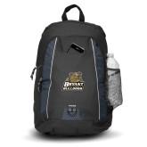 Impulse Black Backpack-Bryant Official Logo