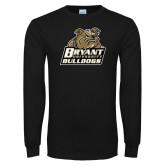 Black Long Sleeve TShirt-Bryant Official Logo