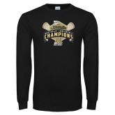 Black Long Sleeve TShirt-2014 Womens Lacrosse Champions