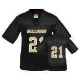 Youth Replica Black Football Jersey-#21