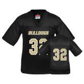 Youth Replica Black Football Jersey-#32