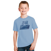 Youth Light Blue T Shirt-Bryant Official Logo Foil