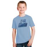 Youth Light Blue T Shirt-Bryant Official Logo Foil