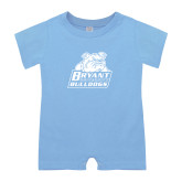Light Blue Infant Romper-Bryant Official Logo