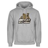 Grey Fleece Hoodie-Bryant Official Logo