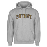 Grey Fleece Hoodie-Arched Bryant