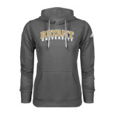 Adidas Climawarm Charcoal Team Issue Hoodie-Arched Bryant University