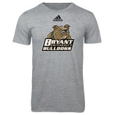Adidas Sport Grey Logo T Shirt-Bryant Official Logo
