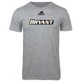 Adidas Sport Grey Logo T Shirt-Bryant