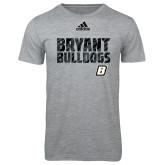 Adidas Sport Grey Logo T Shirt-Bryant Adidas Logo