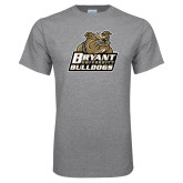 Grey T Shirt-Bryant Official Logo