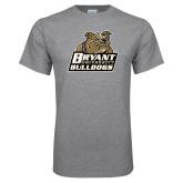 Grey T Shirt-Bryant Official Logo