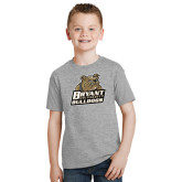 Youth Grey T-Shirt-Bryant Official Logo
