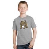 Youth Grey T-Shirt-Bulldog