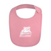 Light Pink Baby Bib-Bryant Official Logo