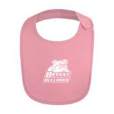 Light Pink Baby Bib-Bryant Official Logo