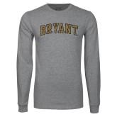 Grey Long Sleeve TShirt-Arched Bryant