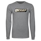 Grey Long Sleeve T Shirt-Softball