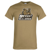 Khaki Gold T Shirt-Bryant Official Logo