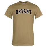 Khaki Gold T Shirt-Arched Bryant