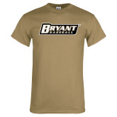 Khaki Gold T Shirt-Baseball