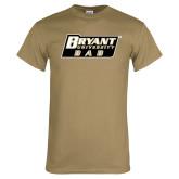 Khaki Gold T Shirt-Dad