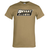 Khaki Gold T Shirt-Alumni