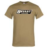 Khaki Gold T Shirt-Soccer
