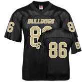 Replica Black Adult Football Jersey-#86