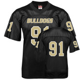 Replica Black Adult Football Jersey-#91