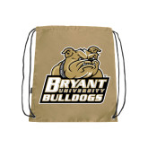 Nylon Vegas Gold Drawstring Backpack-Bryant Official Logo