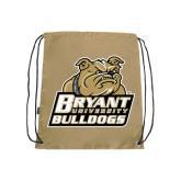 Nylon Vegas Gold Drawstring Backpack-Bryant Official Logo
