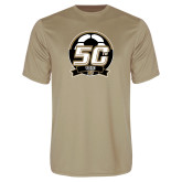 Performance Vegas Gold Tee-50th Soccer Logo