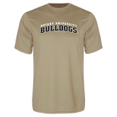 Syntrel Performance Vegas Gold Tee-Arched Bryant University Bulldogs