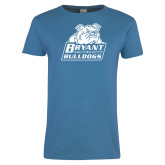 Ladies Sapphire T Shirt-Bryant Official Logo