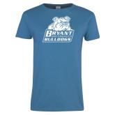 Ladies Sapphire T Shirt-Bryant Official Logo