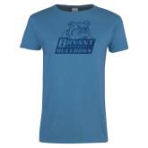 Ladies Sapphire T Shirt-Bryant Official Logo Foil