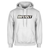 White Fleece Hoodie-Bryant