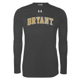 Under Armour Carbon Heather Long Sleeve Tech Tee-Arched Bryant