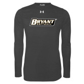 Under Armour Carbon Heather Long Sleeve Tech Tee-Softball