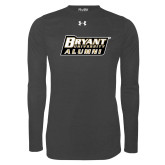 Under Armour Carbon Heather Long Sleeve Tech Tee-Alumni