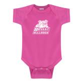 Fuchsia Infant Onesie-Bryant Official Logo