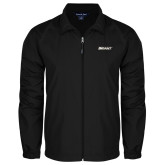 Full Zip Black Wind Jacket-Bryant