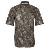 Camo Short Sleeve Performance Fishing Shirt-Bryant