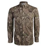Camo Long Sleeve Performance Fishing Shirt-Bryant