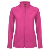 Ladies Fleece Full Zip Raspberry Jacket-Bryant
