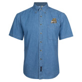 Denim Shirt Short Sleeve-Bryant Official Logo